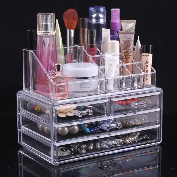 24 13 5 18 5cm Clear Acrylic Makeup