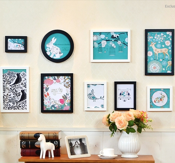 Best Online Shopping Sites For Home Decor: High Quality Wooden Photo Frames With HD Pictures