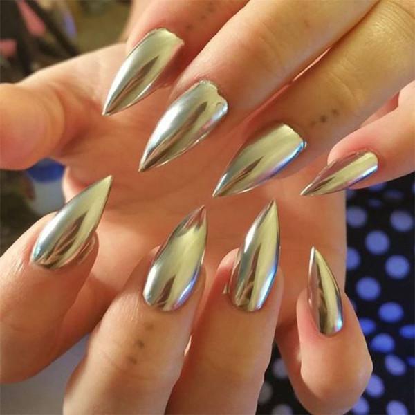 Where to get mirror nail polish best nails 2018 chrome powder for nails metallic effect nail mirror prinsesfo Choice Image