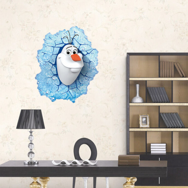 online home decor shopping in pakistan 3d frozen wall sticker animals decals for 13527